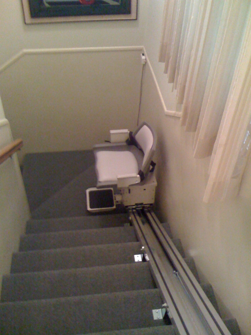 Louis' Stair Lift 2