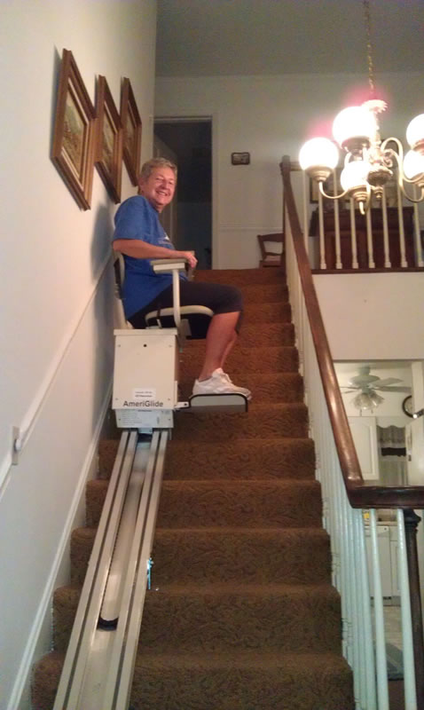 Gunnarsonn Family Stairlift In Minnesota