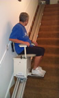 Gunnarsonn family stair lift in Minnesota