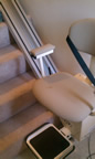 Roeslin family stair lift, Santa Fe NM