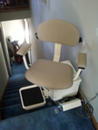 Sutton family stairlift, Brooks GA